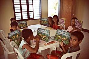 GlobalGiving away more books in Babuyan Islands