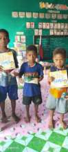 Belated Christmas gifts for Zambales children