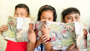 Children and Books in Jaro, Iloilo City