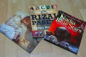 The books we're giving away...