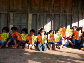 GlobalGiving Away Our Books in the Cordilleras
