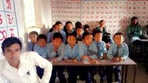 Limbu classroom in East Nepal
