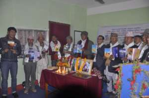 Limbu book Launch program in Phidim