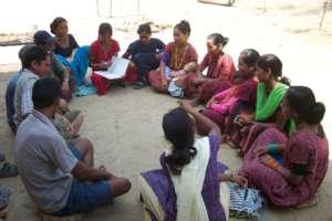 Community Group Meeting in Dang