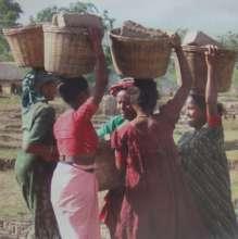 Tharu women's unity through their work