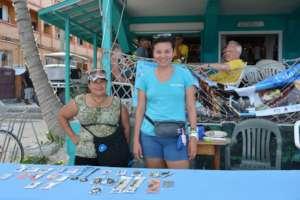 "Cecilia's work ""Belioness"" Belize Lionfish Jewerly"