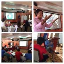 Speaking with media training