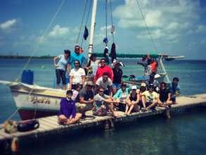 Fellows with Caye Caulker Fishermen