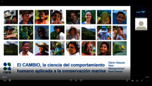 Fishing panorama in the MAR webinar - Rare