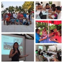 Storytelling in Livingston, Guatemala