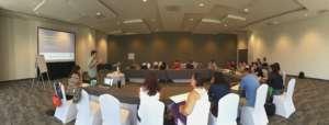 CSF expert on economic tools training