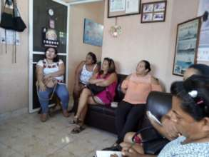 Women of the cooperative Mujeres del Mar
