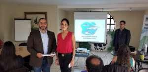 Elisa and the Vice-minister of MAGA Guatemala