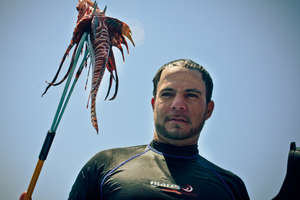 Save the reef. Eat a lionfish.