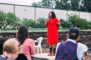 Shantae breaks down racial barriers in farming