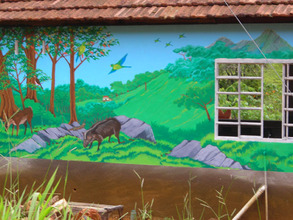 Examples of murals to inspire Junior Scientists