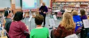 Linda Emmerman trains music educators for GITC