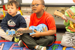 Ocean Beach Elementary gets ukes