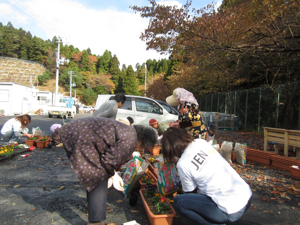 Relief Assistance for Tohoku Earthquake Affected