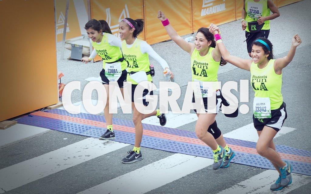 Training for a marathon...training for life