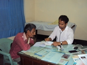 Another diabetic patient consulting a Consultant
