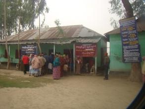 Eye & Diabetic Patients at Chapadaha Camp