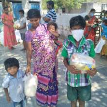 One family gets Covid Relief