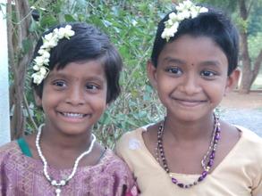 BASS orphanage girls Sara & manasa
