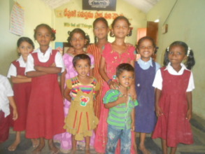 some of the children from our school