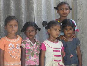 Sundarayya Colony school Children