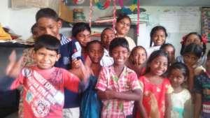 happy children on Teachers day September 5 2018