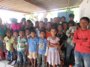 project children in a school