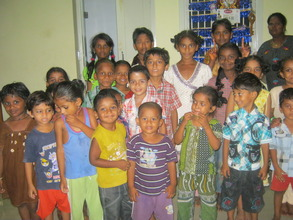 Request for schol for this children in a new slum