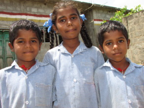 Yamuna and her two brothers Lakshmiaih and Ramaiah