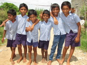 some of the children in the school