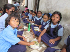 lunch in the school