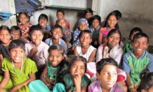 happy children in BASS school