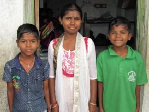 Yamuna and her brothers Ramiah & Lakshmaiah