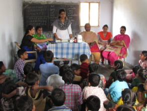 medical care and health education camp for childre