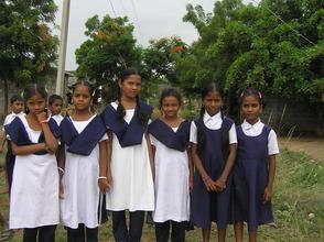 Girls from BASS School