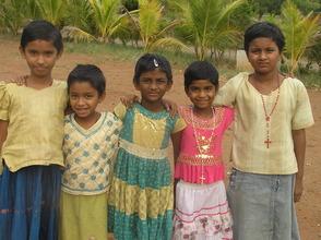 Children from Dasaripalem School