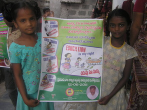 Children attended on Ralley agaisnt Child Labour