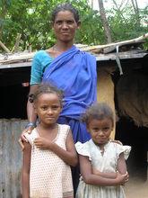 One familiy from Boyapalem Stone quarry centre