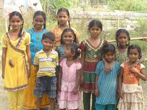 Dasaripalem school children