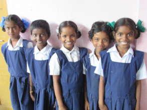 happy children in a BASS school