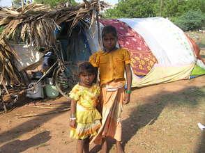 Edlapadu Dispalced children