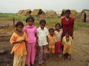 Swarnabharathinagar displaced children