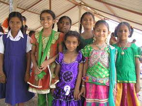 Children from BASS school