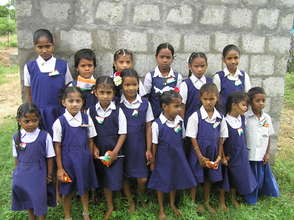Children from BASS school  In Guntur