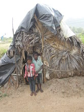 two brother in their hut